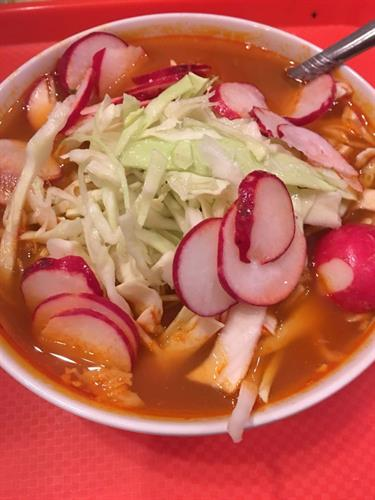Homemade Pozole