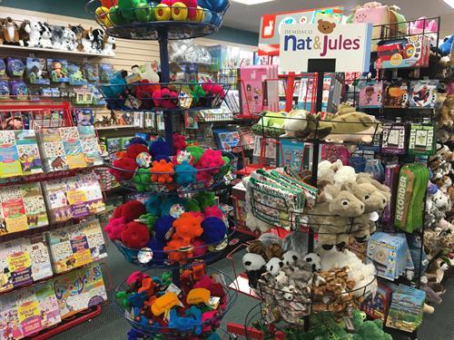 Wonderful plush & stuffed animal gifts; huggable & cuddly comfort for kids