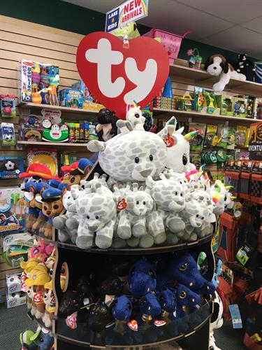 Brand Name Toys: TY - plush & stuffed animals, collectibles, children cherish toys