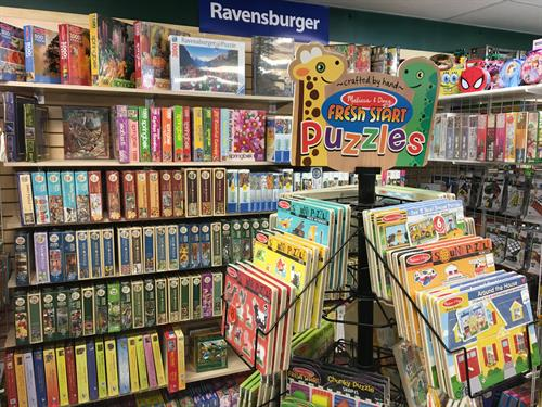 Brand Name Ravensburger Puzzles - tons of puzzles for your enjoyment