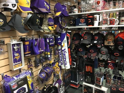 NFL Apparel, Gear & Novelty Items: Viking, Bears