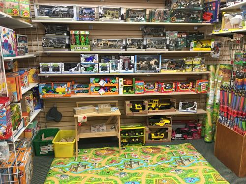 We carry a unique selection of toys, for boys and girls