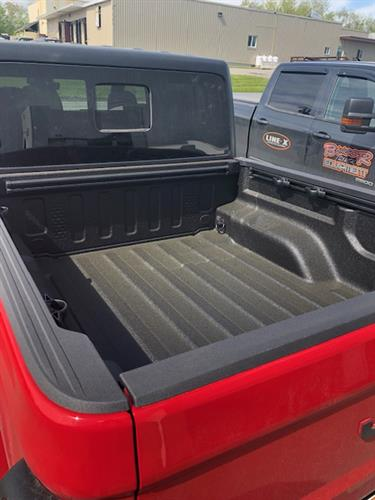 Line-X Spray-in Bedliner