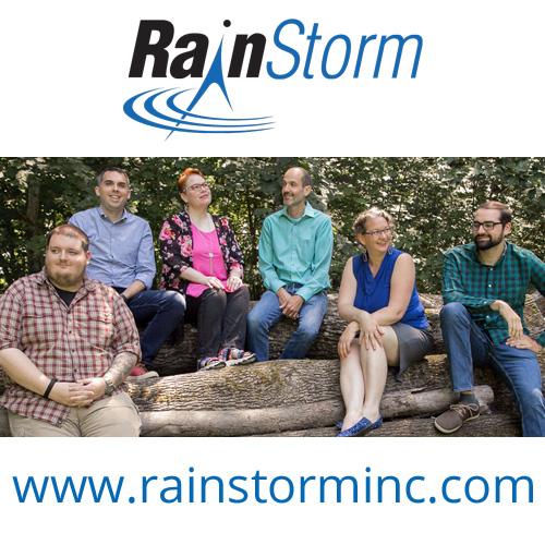 Meet the RainStorm Team - Ian, Jason, Suze, Leo, Monique, and Evan!