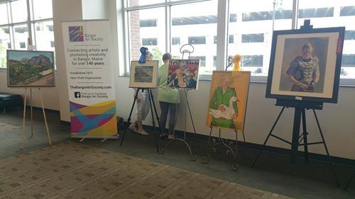 Bangor At Society at Chamber's BIZ EXPO 2018