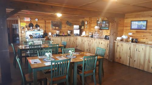 Breakfast Room, rates start at $49.99, can seat up to 40, ideal for small gatherings, not available for mornings.