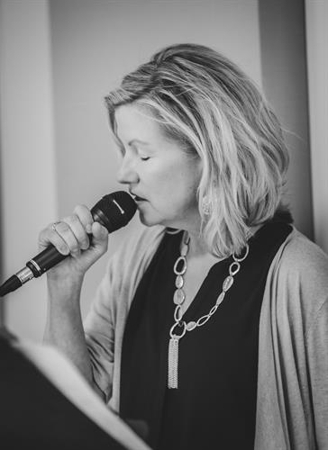 vocalist Denise O'Connell