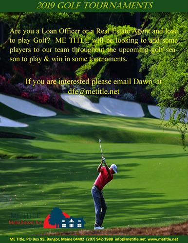 Play Golf with ME TITLE!