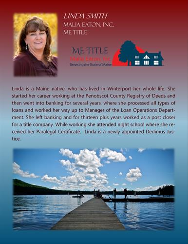 Linda Smith BIO Senior Post Closing Specialist