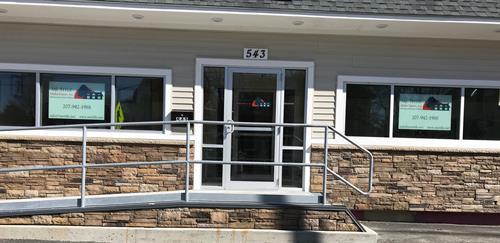 Our location!  543 Hammond Street