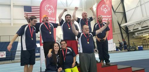Special Olympics Basketball Tournment