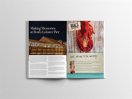 Beal's Lobster Pier Advertorial Sample