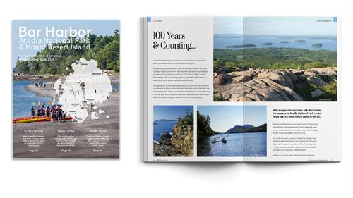 Bar Harbor Chamber of Commerce Print Sample