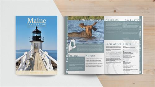 Maine Tourism Association Print Sample