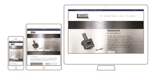 Numberall Stamp & Tool Website Development