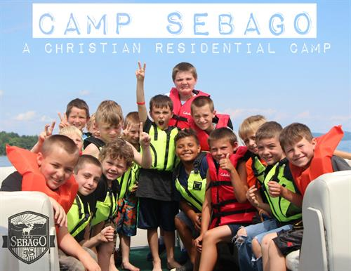 S-E-B-A-G-O, Sebago is the place to go!