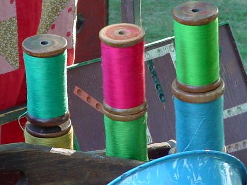 Colorful Spools