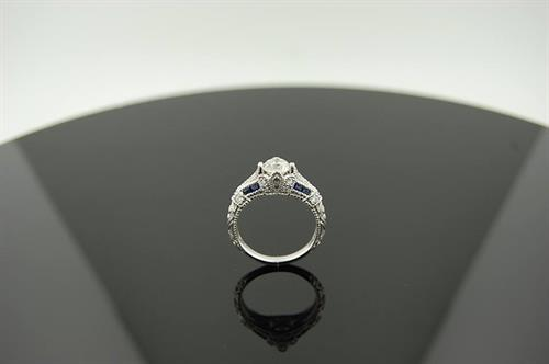 A recreated engagement ring