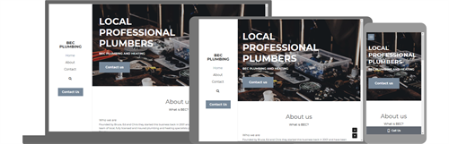 BEC Plumbing and Heating Website and Office 365