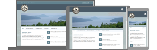 Town of New Salem Website and Office 365