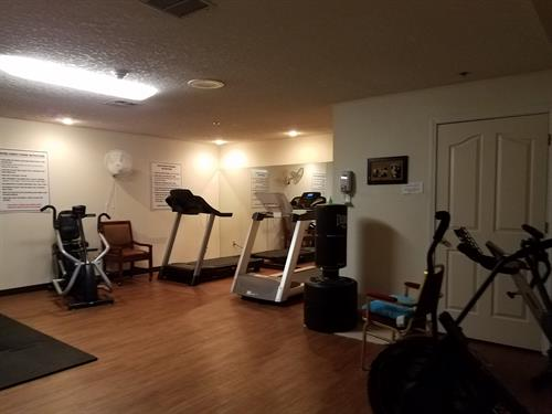 Onsite exercise gym