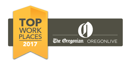 In 2017, PT Northwest was named a Top 100 Work Place in Oregon again! This time, PT Northwest moved into the mid-sized company category, and was ranked #7.
