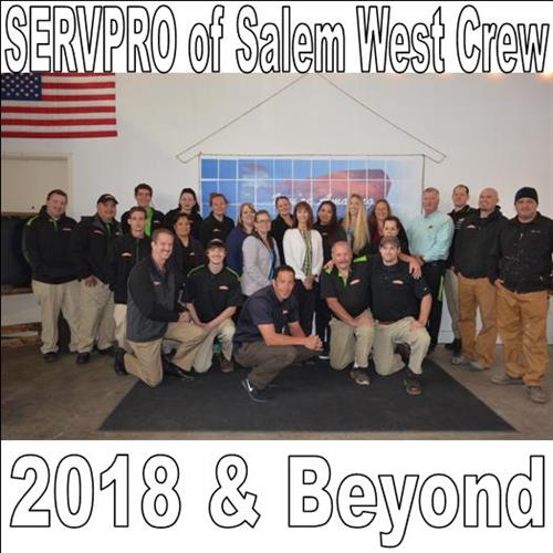 Meet the SERVPRO of Salem West Crew