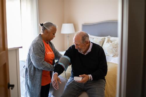 We offer remote patient monitoring.