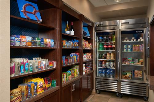Suite shop for snacks!