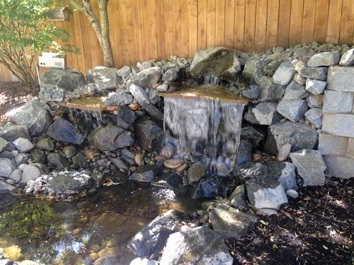 Water Feature Installed West Linn