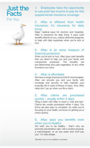 Aflac Advantages