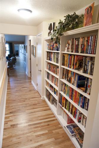 Hallway Bookcases