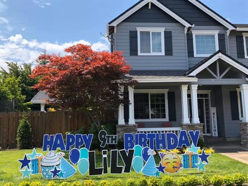 Birthday Yard Card