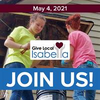 Give Local Isabella Debuts May 4 with 24 hours of communitywide fundraising