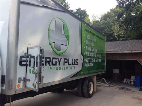 Energy Plus Cellulose Truck
