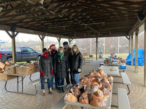VFW Post 1370 Holliday Food Drive