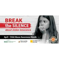 MP Financial Institutions 'Break the Silence' on Stolen Innocence | Child Abuse Prevention Month