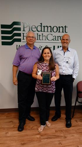Krista Bolick - July Imaging Department Employee of the Month