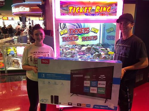Nice arcade prize!