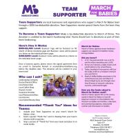 March of Dimes- March for Babies (Event Fundraiser)