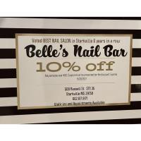 Belles Nail Bar - Starkville