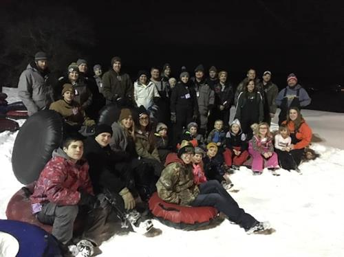 Young Farmer & Agriculturist Sno-Tubing Event February 2019