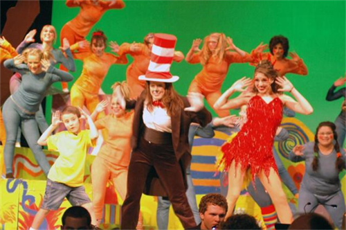 Theater production of Dr. Seuss