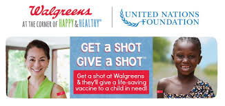 When you get your flu shot at Walgreens, we provide life saving vaccines to those in need.