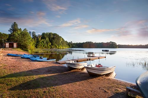 Swim, canoe, kayak or fish!