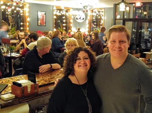 Owners Sifia Jevne & Andrew Mercil