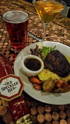 Saturday means steak night