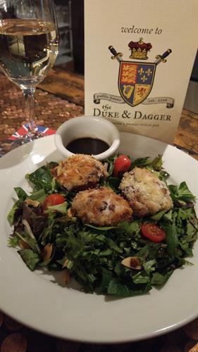 The Victoria Salad is a delicious healthy option