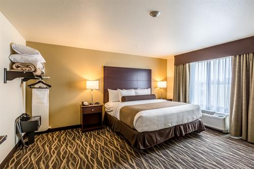 King Extended Stay Bedroom