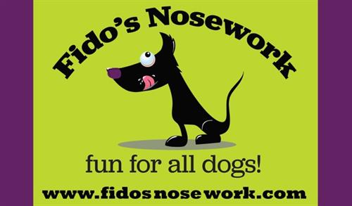 Fido's Nosework logo and banner
